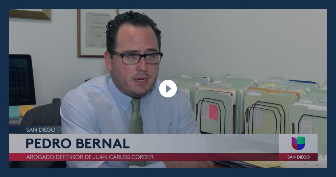 Image Of Attorney Pedro Bernal